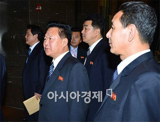 최룡해 북한 노동당 중앙위원회 부위원장.