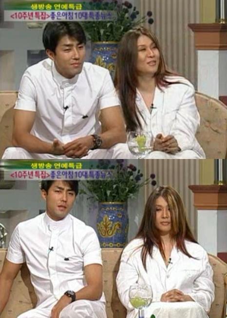 차승원(왼쪽) 이수진 [사진=SBS 방송 캡처]