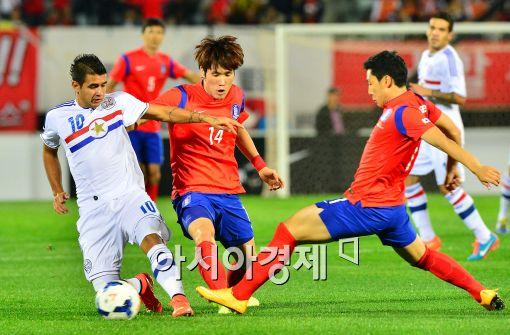 한국 파라과이 친선경기[사진=최우창 기자]