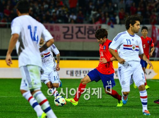 [포토]드리블하는 한국영