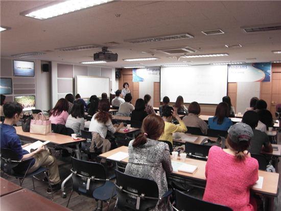 메디컬 영어회화 수업 장면