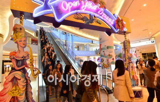 국내 최대 복합쇼핑몰 '롯데월드몰' 오늘 개장…1천개 브랜드 입점