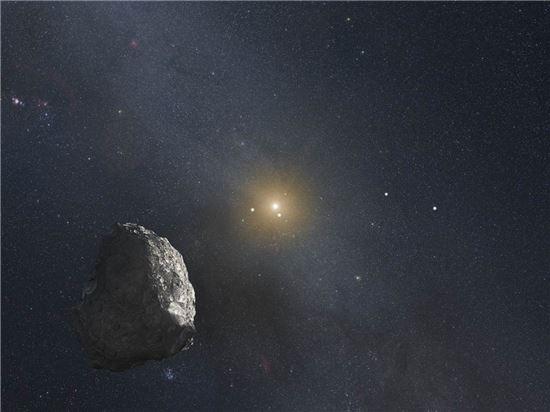 """▲""""여기가 카이퍼 벨트!"""" 허블우주망원경이 카이퍼 벨트의 탐사 대상 후보지 세 곳을 찾아냈다.[사진제공=NASA]"""