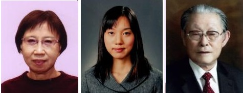 (왼쪽부터)저술상 수상자 이소라, 학위논문상 박혜영, 공로상 홍기원씨