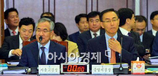[포토]긴장한 국민수-김수남