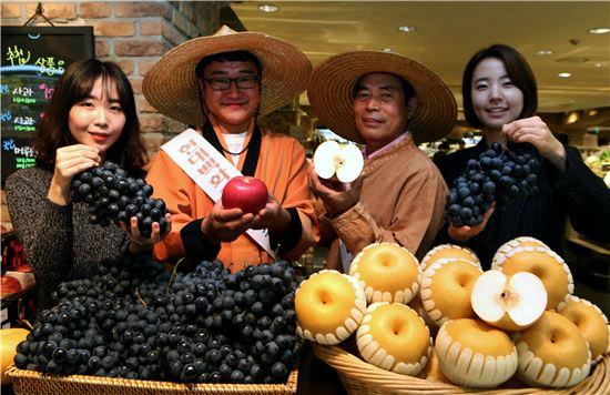 현대百, 과일 소비 촉진을 위한 '함께과일 캠페인' 진행