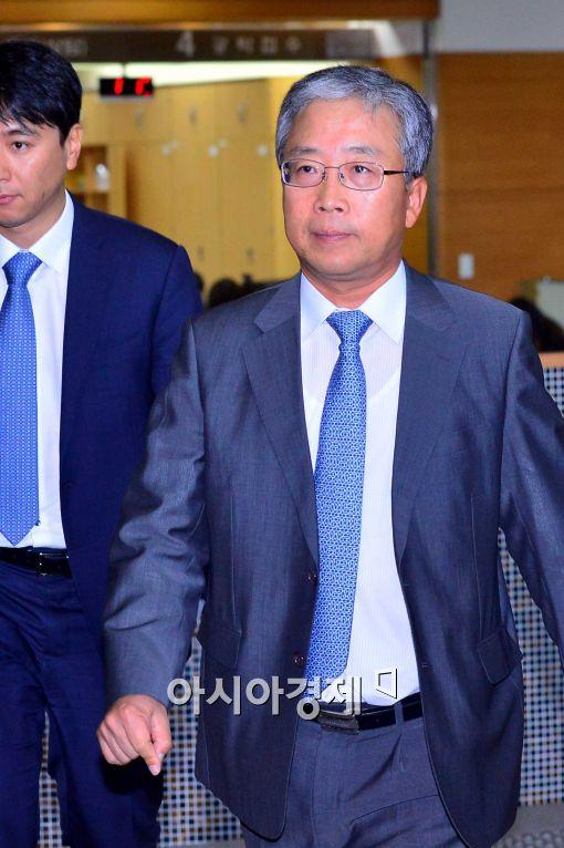 [포토]'뇌물수수'혐의로 집행유예 선고 받은 송광조 전 서울국세청장