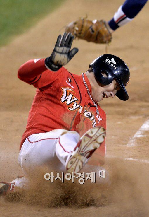 [포토]박계현,'4강을 향한 역전 득점'