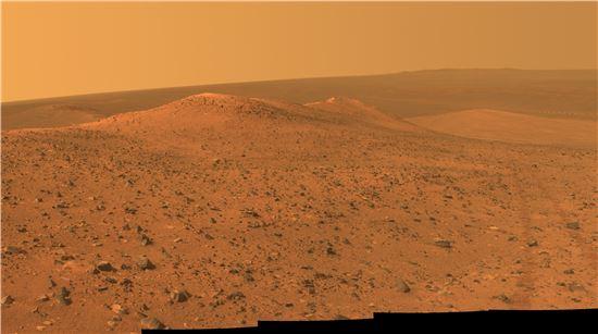 ▲오퍼튜니티가 화성 전경을 담았다.[사진제공=NASA]