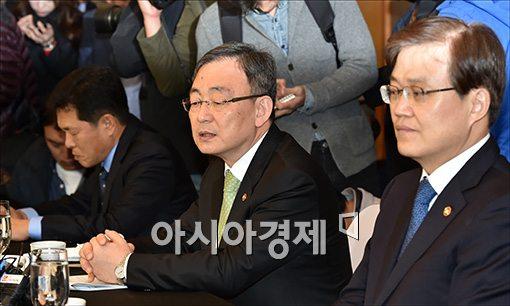 [포토]발언하는 최성준 방통위원장