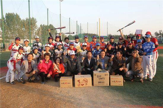 지난 18일 전북 익산에서 개최된 '2014 LG배 한국여자야구대회'
