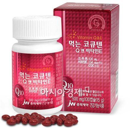 JW중외제약, 먹는 코큐텐 Q앤 비타민E 출시