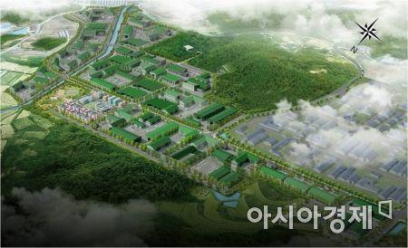 <담양일반산업단지 조감도>