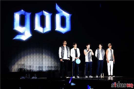 '지오디(god) 15주년 기념 앙코르 콘서트' / 싸이더스HQ 제공