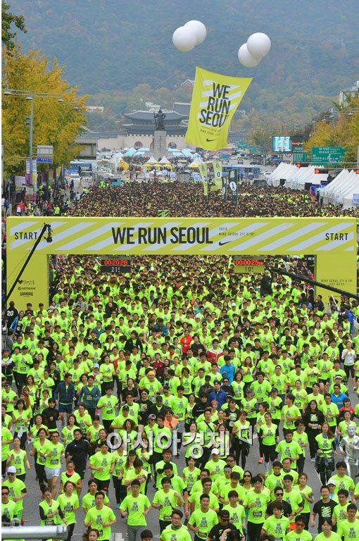 [포토]서울을 달리다