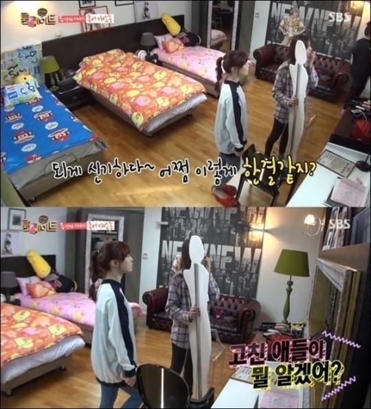 SBS 예능프로그램 '룸메이트' 방송화면