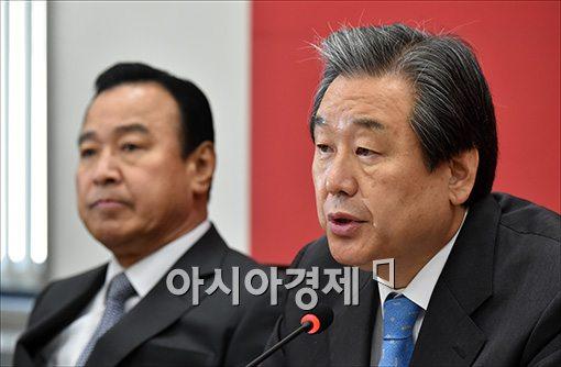"""김무성 """"세월호법 이후 안전불감증으로 인한 국민 희생 없어야"""""""
