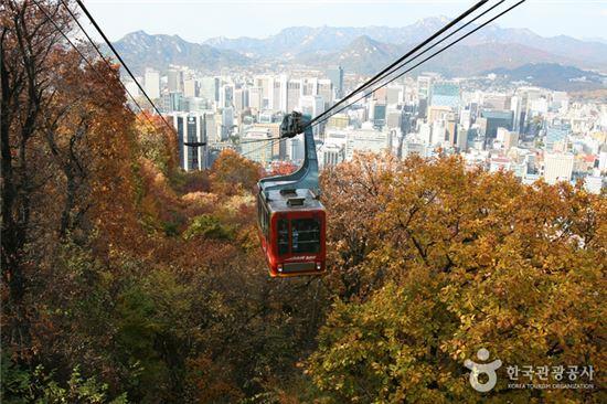 남산케이블카. 사진 출처=한국관광공사