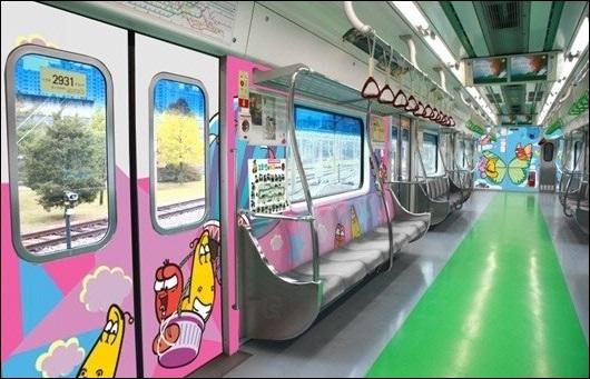 서울시 라바 지하철 /서울시 제공