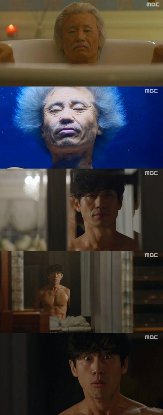 신하균 [사진=MBC '미스터백' 방송캡처]