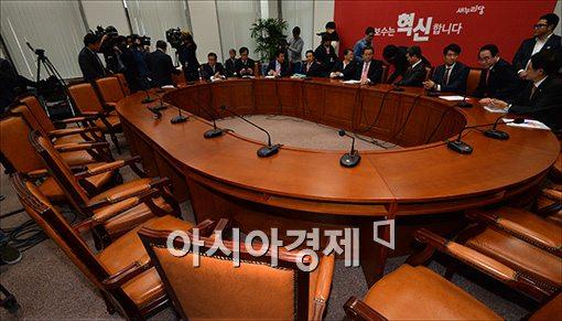 [포토]파행된 공무원 연금 개혁 간담회