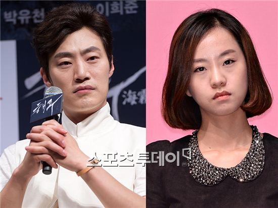 배우 이희준(왼쪽), 노수산나 [사진=아시아경제 DB]