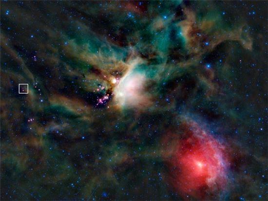 ▲뱀주인자리. 별이 탄생하는데 90만년의 기다림이 필요했다.[사진제공=NASA]