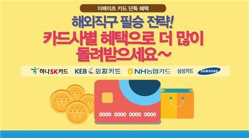 이베이츠 '카드사 제휴 추가 캐시백 이벤트'