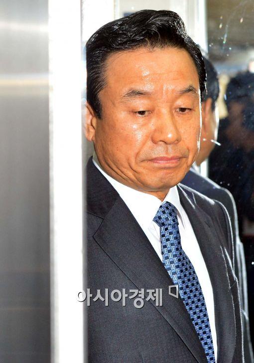 [포토]입 굳게 다문 박인용 국민안전처 장관 내정자