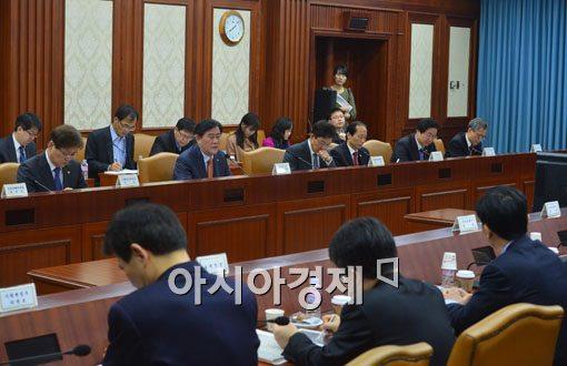[포토]경제관계장관회의 주재하는 최경환 부총리