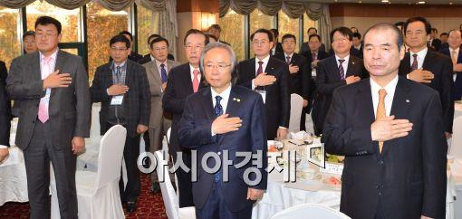 [포토]이주영 해양수산부 장관, 제8회 수산미래포럼 참석