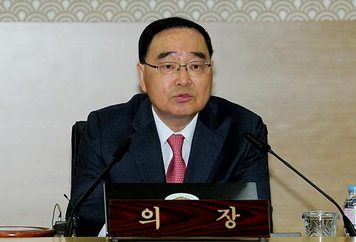 정홍원 국무총리<자료사진>