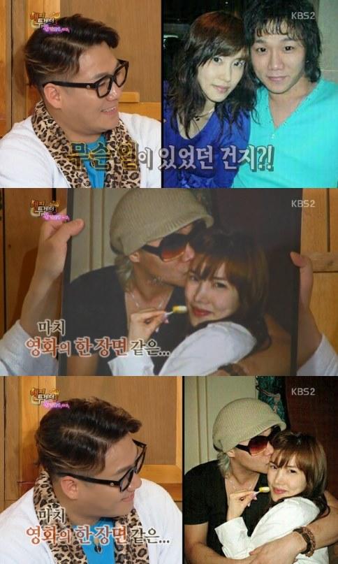 윤민수, 아내와의 연애시절 사진 공개 [사진=KBS2 '해피투게더3' 방송캡처]