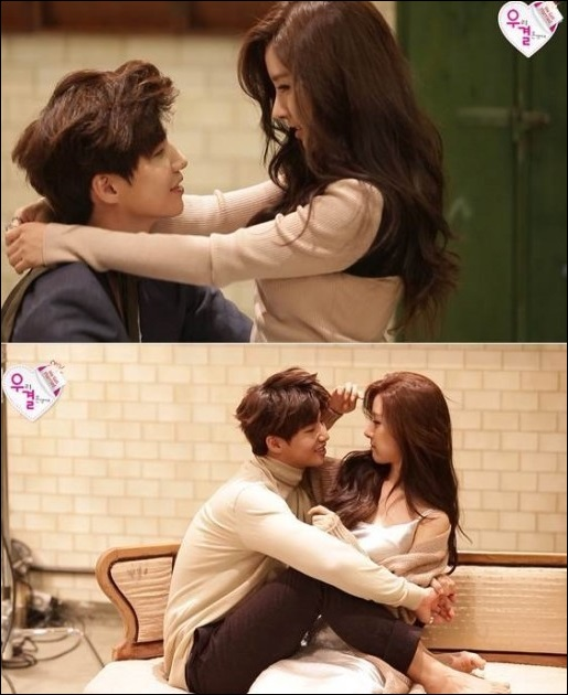 송재림(왼쪽)과 김소은 화보 [사진=MBC 제공]