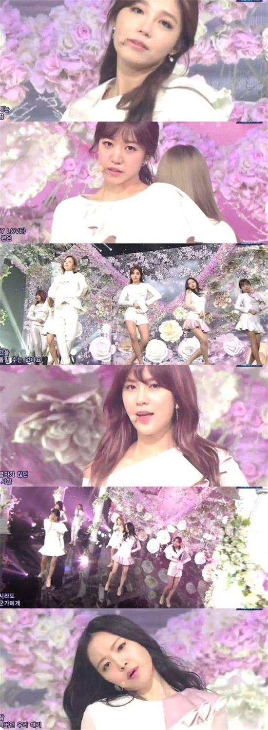 에이핑크 /SBS '인기가요' 캡처