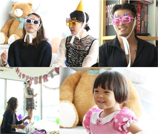 추사랑 서프라이즈 생일파티 [사진=KBS2'슈퍼맨이 돌아왔다']