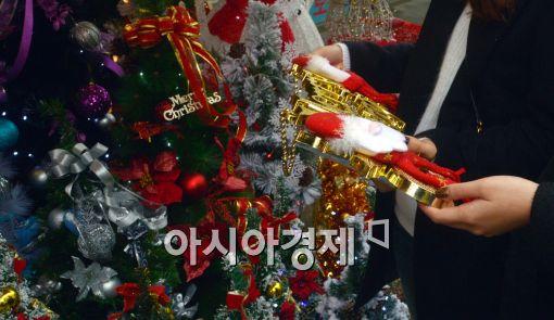 [포토]크리스마스, 한달 앞으로