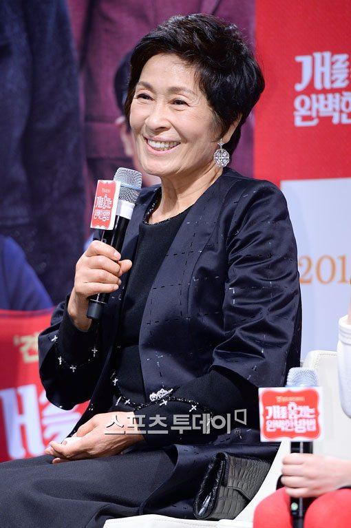 영화 '개를 훔치는 완벽한 방법' 배우 김혜자