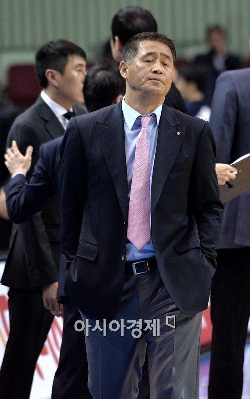 [포토]추일승 감독, '내가 지다니..'