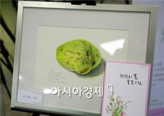 '찬찬히 본 풀꽃 그림展'