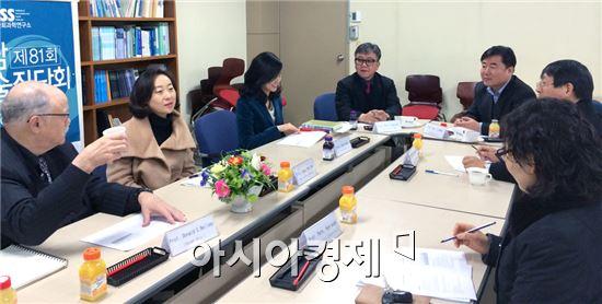 호남대학교 인문사회과학연구소는 '제81회 호남학술좌담회'를 실시했다.