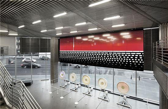 새단장한 현대차 '현대모터스튜디오' 내부