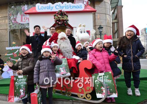 [포토]진짜 산타와 크리스마스를
