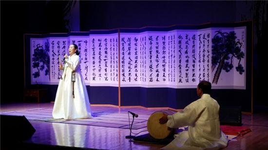 12월6일 오후 3시 대전무형문화재전수회관에서 올해 토요상설무대 마지막 무대로 펼쳐진 판소리 공연.
