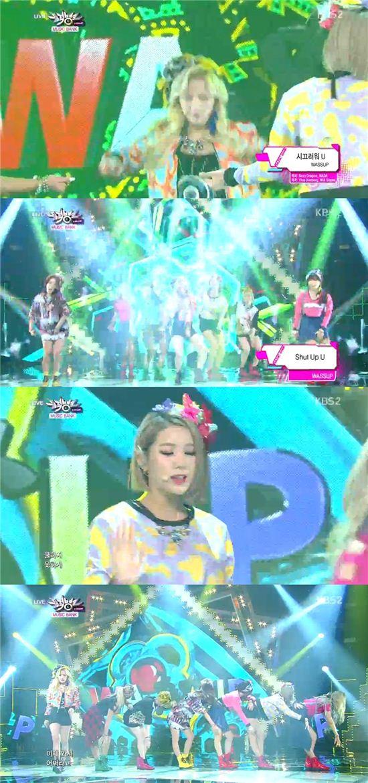 ▲KBS2 음악프로그램 '뮤직뱅크'/방송 화면 캡쳐