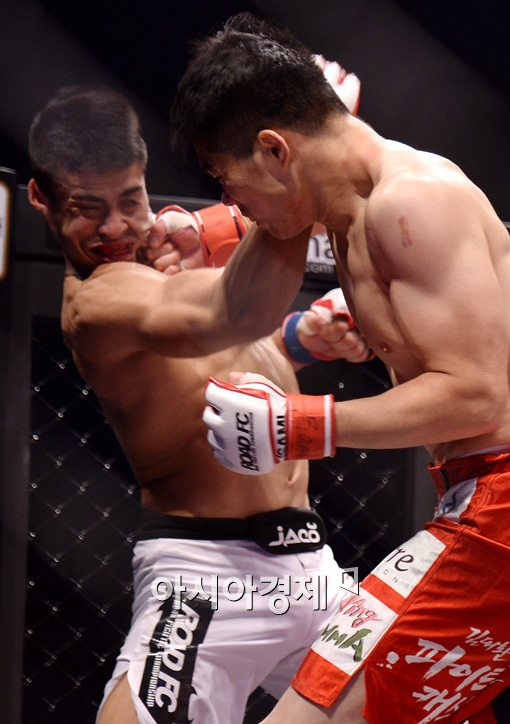 [포토]김대환 TKO 승리, '한 방이면 충분해!'