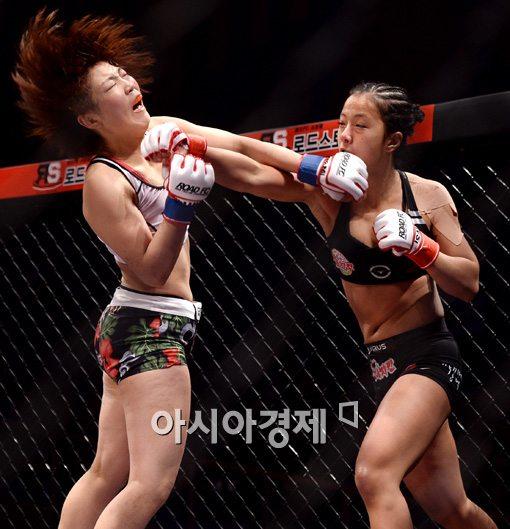 [포토]송가연, '쉽게 물러나지 않아!'