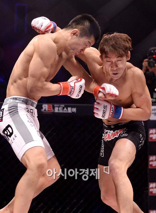 [포토]이길우-이윤준, '타이틀을 놓고 벌이는 혈전'