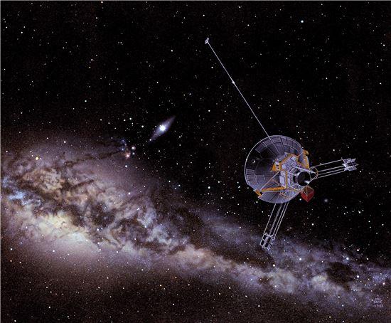 ▲충격파로 판단할 때 보이저1호는 성간 공간에 있는 것으로 분석됐다.[사진제공=NASA]