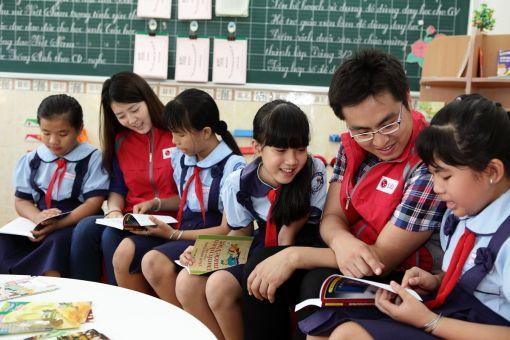 베트남 '희망 가득한 도서관' 기증